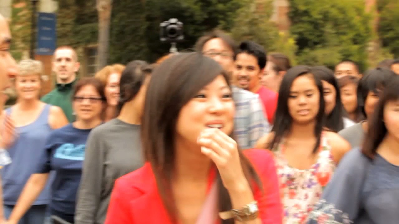 b18f304a9805b6 Nam s Marriage Proposal Flash Mob with