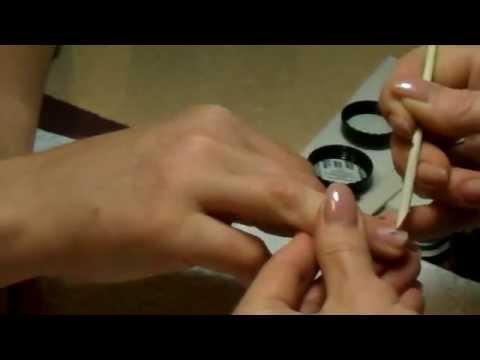 Японская полировка Masura в студии маникюра Лены Лениной