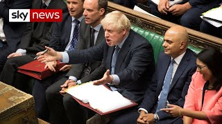Boris Johnson's day of defeat in six minutes