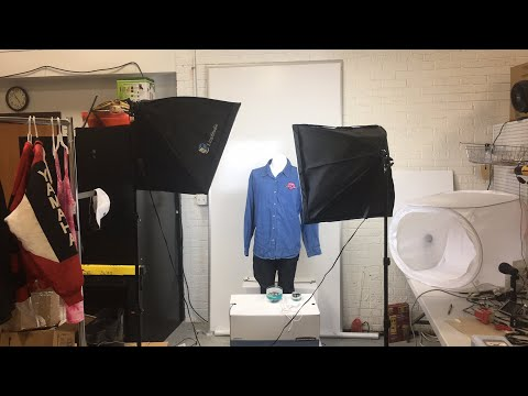 What lighting kit do I use for eBay, my review of the Lima soft box light kit