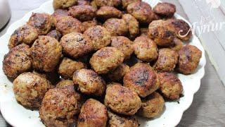En kolay Tavuk köftesi tarifi- Hähnchenfrikadellen- Ramazan tarifleri
