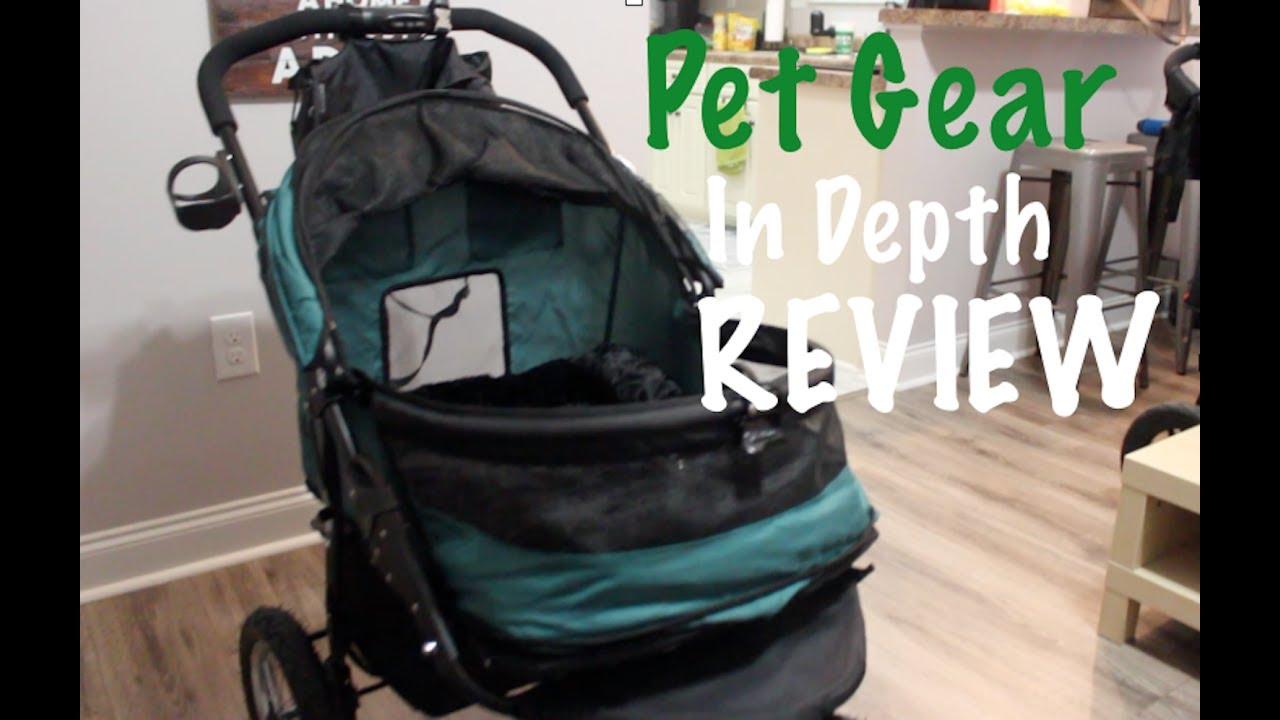 pet gear new no zip double pet stroller in depth review dog strollers part 2 of 3