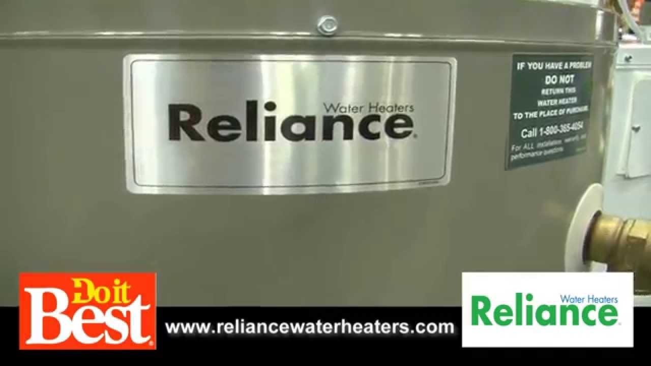 hight resolution of reliance water heaters