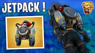 Streamers react/use the new JET PACK in Fortnite
