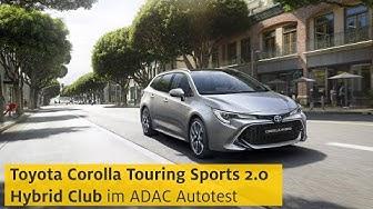 Toyota Corolla Touring Sports 2.0 Hybrid | ADAC 2020