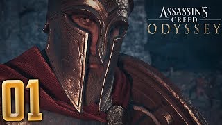 [1] ALEXIOS THE SPARTAN! - Assassin's Creed Odyssey PC Gameplay Walkthrough