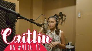 Caitlin on #VLOG 11 - Yeay Rekaman! 🌸