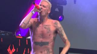 Die Antwoord Rich Bitch Live Corona Capital Mexico 2012 Day 1