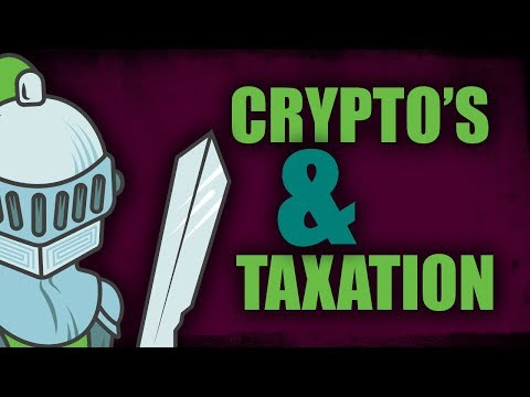 Taxation and Cryptocurrencies - all the details!