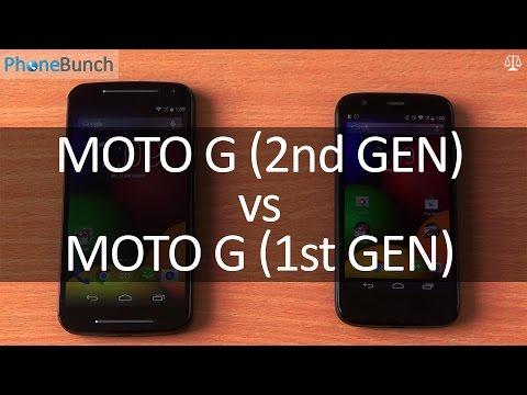 Moto G 2nd Gen 2014 vs Moto G 1st Gen 2013
