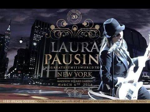Laura Pausini Concierto New York Greatest Hits World Tour 2014