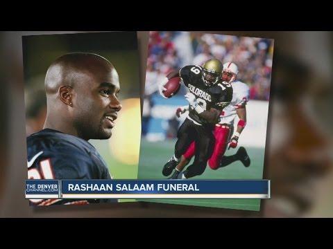 Rashaan Salaam laid to rest