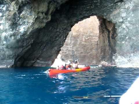 Kayaking the Na Pali Coast, Kauai