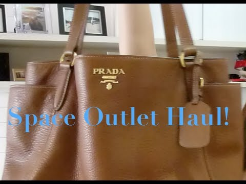 Prada Haul - Space Outlet and some outfits - YouTube 2606f5f8bee74