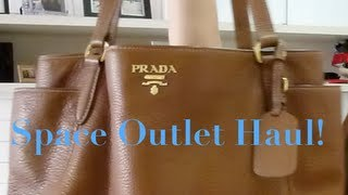 Prada Haul - Space Outlet and some outfits