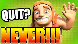 WHY I NEVER QUIT CLASH OF CLANS...........🤔