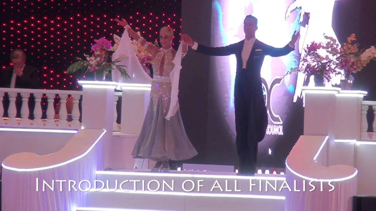Ballroom Final Round 2015 WDC World Professional Ten Dance Championships