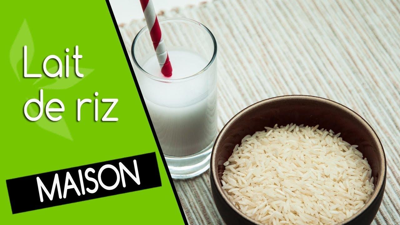 Comment faire un lait de riz maison ? (Boisson riz cru)