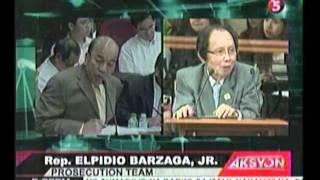 Rep Barzaga, nakaharap ang dating Prof na si ex-assoc, Justive Cuevas