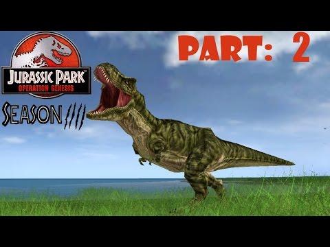 Jurassic Park Operation Genesis S4 - part 2 - Albertosaurus addition!