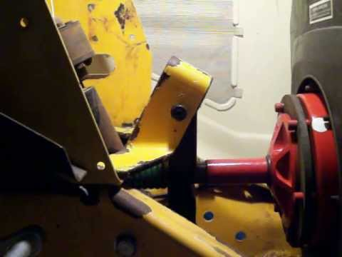 Stock Cub Cadet Spread Frame Clutch Hanger Youtube