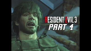 RESIDENT EVIL 3 REMAKE Walkthrough Part 4 - Vaccine (RE3 PC Gameplay)