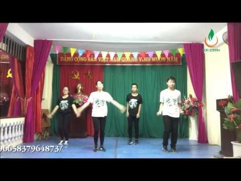 Liên hoan Dân vũ Quốc tế TP Hà Nội 2016: Dân vũ Tên tôi Việt Nam - HanoiADC