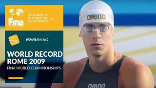 Cielo Filho's World Record at Rome 2009 | FINA World Championships