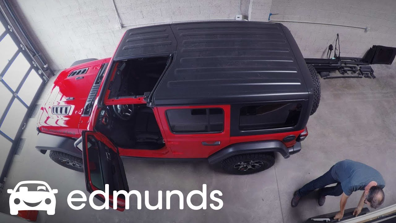 How To Remove The Hardtop And Install A Soft Top 2018 Jeep