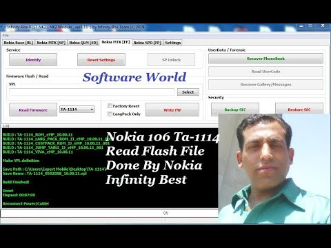 Nokia 106 Ta 1114  Urdu Flash File Read Done By Nokia Infinity Best