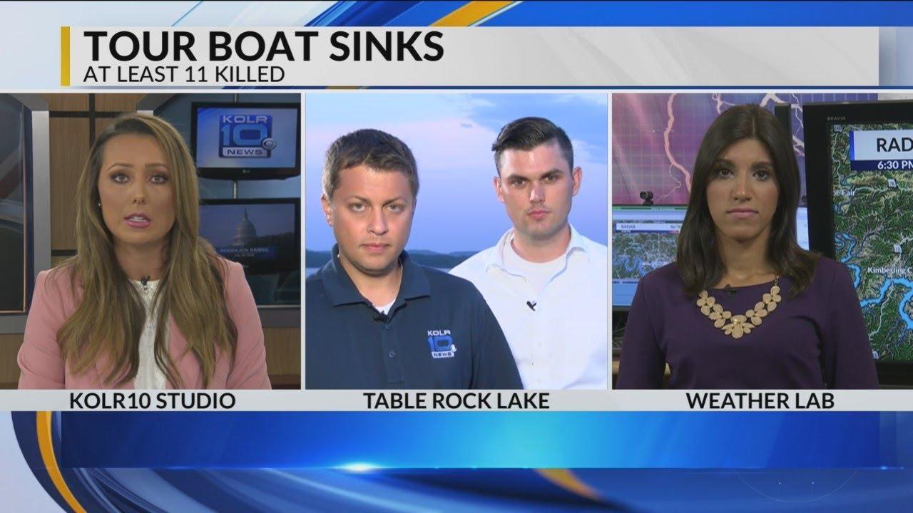 KOLR10 Daybreak Team Coverage - Branson Ride the Ducks Tragedy