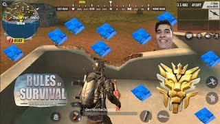 🔥EPIC 11 KILL LOSS🔥 Rules of Survival🔫