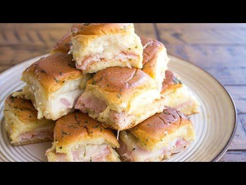 Ham & Turkey Club Sliders