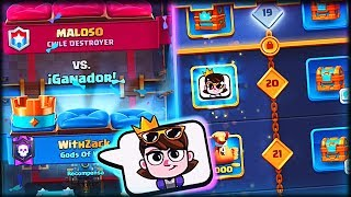CONSIGO EL EMOTE EXCLUSIVO DE LA SEASON 3 en Clash Royale - WithZack