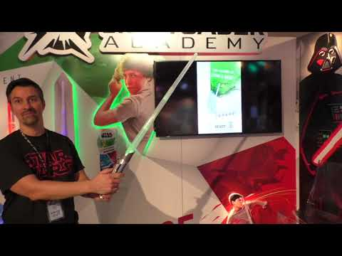 STAR WARS LIGHTSABER ACADEMY, First Look, Train To Be a Jedi
