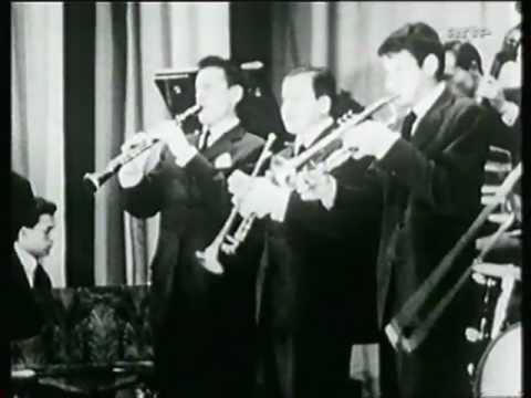 Sidney Bechet Avec Claude Luter Et Son Orchestre Salle Pleyel Paris 1952