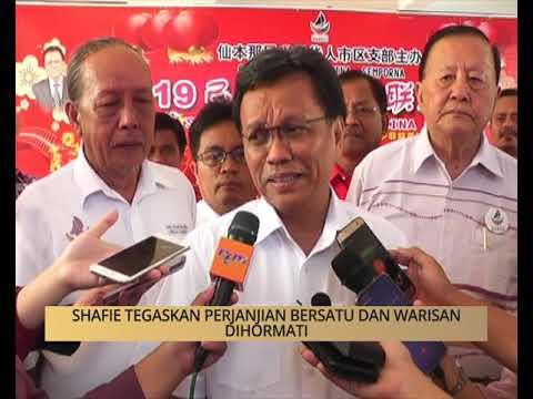 Khabar Dari Sabah: Shafie tegaskan perjanjian Bersatu dan Warisan dihormati