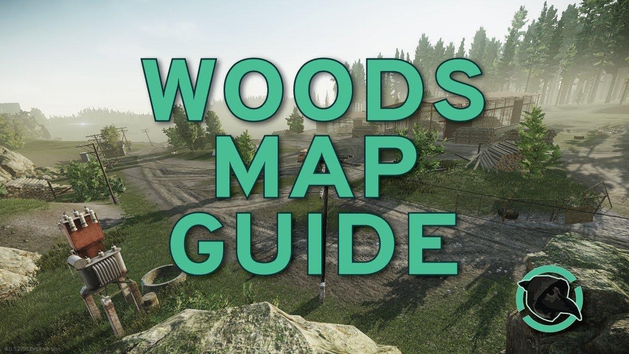 Map woods