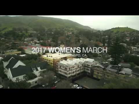 2017 Women's March - San Luis Obispo, Ca