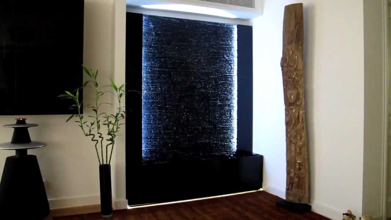 Mur deau en schiste noir une ralisation odysse vgtale