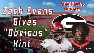 "Zach Evans Gives ""Obvious"" Hint About Where He Will Be Playing 