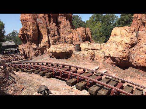 4k POV Big Thunder Mountain Railroad Disneyland