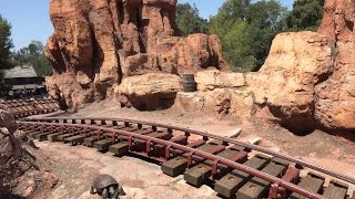 4k POV Big Thunder Mountain Railroad Disneyland