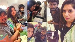 KPY Dheena, VJ Priyanka airport atrocities | Funny Conversation | Vijay TV