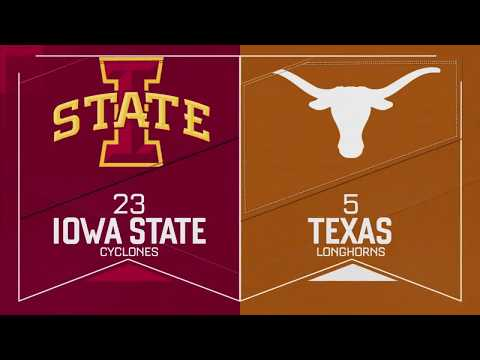 Texas Volleyball vs Iowa State LHN Highlights [Oct. 14, 2017]