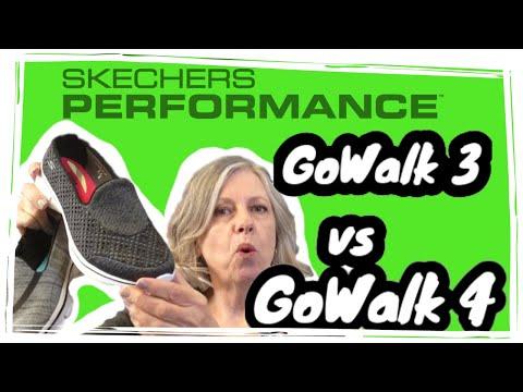 skechers go walk 2 vs go walk 3