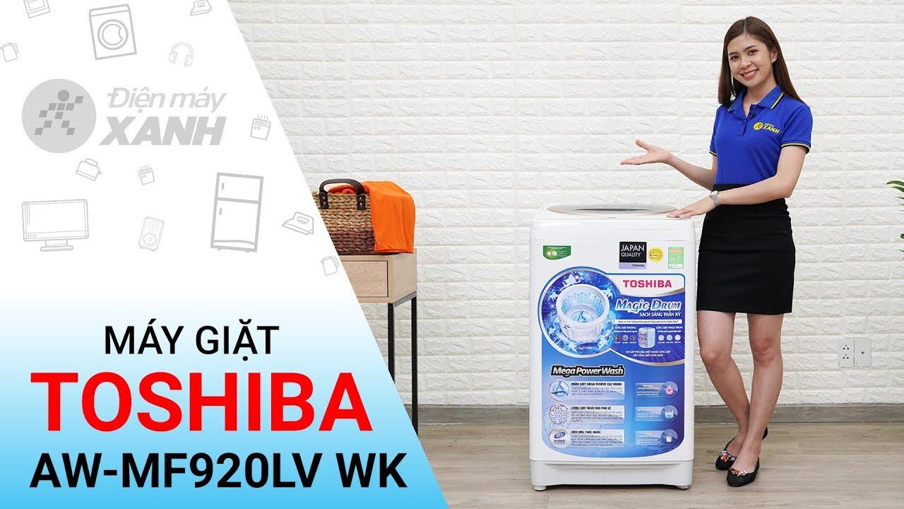 Máy giặt Toshiba 8 2kg AW-MF920LV WK – Giá bình dân cho mọi người   Điện máy XANH