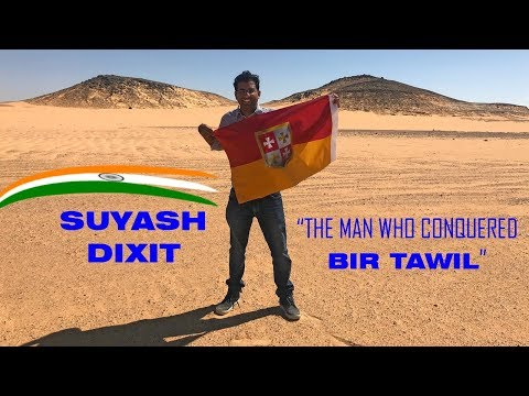 Indian who conquered Bir Tawil
