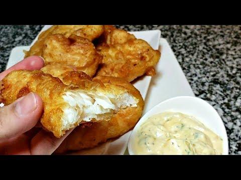 easy-crispy-battered-fish-recipe-|-lemon-herb-tartar-sauce-recipe