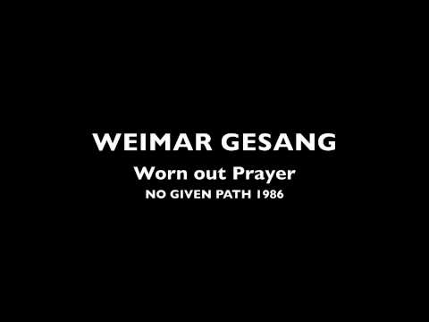 Weimar Gesang No Given Path